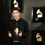 Exo member Lay attends 2019 Grammys