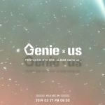 Pentagon announce comeback with new image teaser for 'Genie:us'