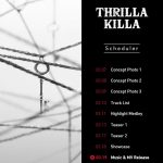 VAV release scheduler for 'Thrilla Killa'!