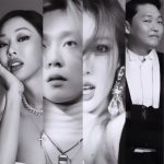 Psy shares first posts on P NATION's official Instagram of himself, Jessi, HyunA and E'Dawn!