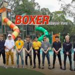 Stray Kids have fun in a Sydney playground in 'Boxer' street version MV
