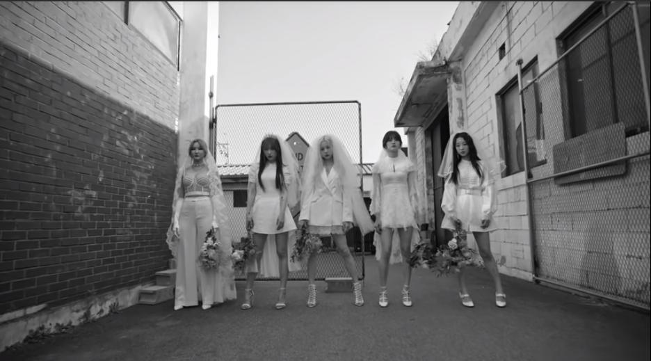 exid are beautiful and dangerous brides in  u0026 39 me u0026you u0026 39  music video