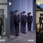 BDC (Boys Da Capo) suit up and display darker charms in photos for their 1st mini album, 'The Intersection: Belief'!