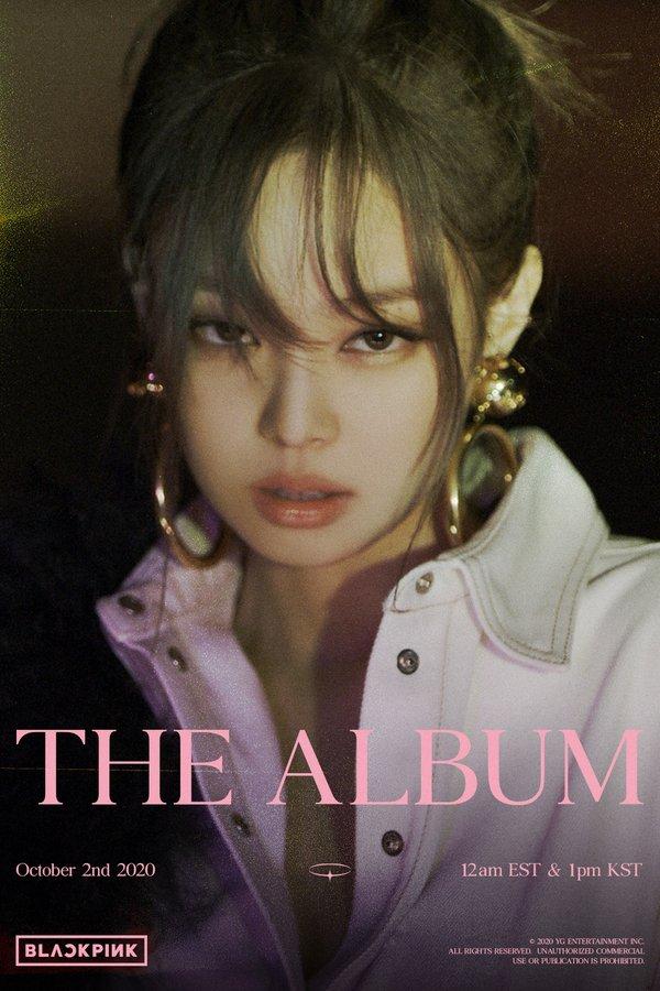 BLACKPINK The Album concept photos