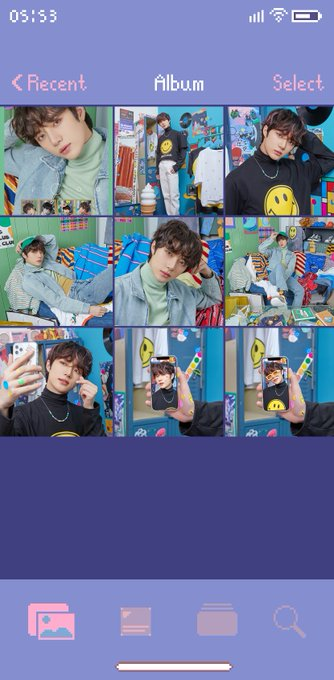 TXT minisode1 : Blue Hour concept photo