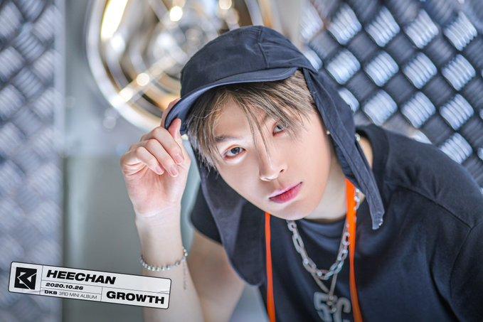 DKB 3rd mini album Growth concept photo
