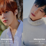 Former X1 members KIM WOOSEOK & LEE EUNSANG team up in concept photos for 'Memories'!