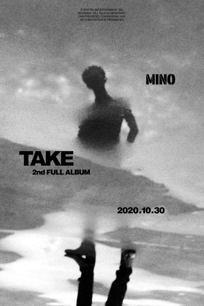 winner mino 2nd solo full album take concept photo