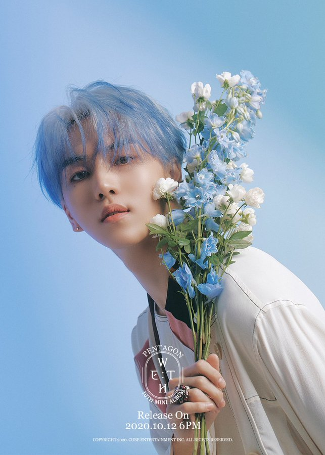 PENTAGON WE:TH Daisy concept photos