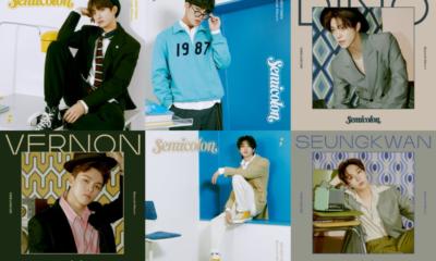 seventeen semicolon special album concept photos