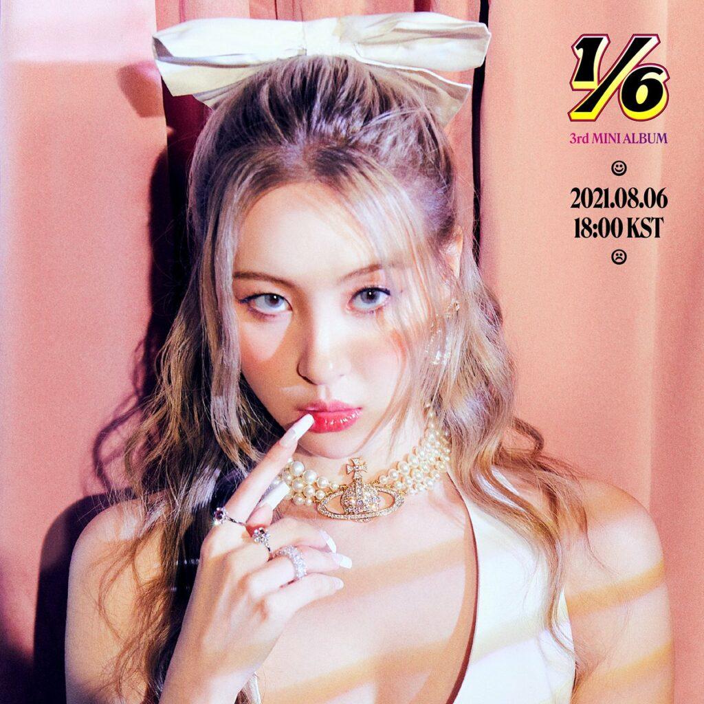 sunmi 1/6 title poster comeback